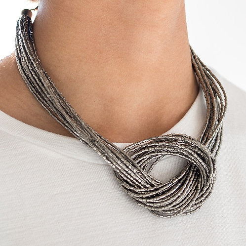 Knotted Knockout Gun Metal