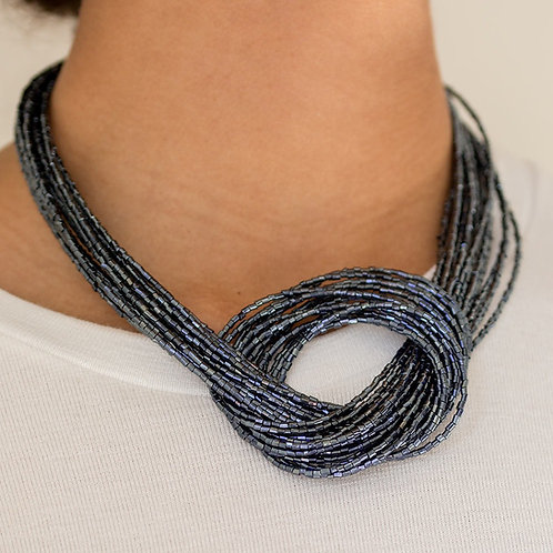 Knotted Knockout Blue