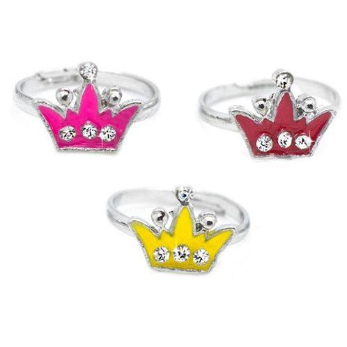 Crown Starlet Shimmer Rings