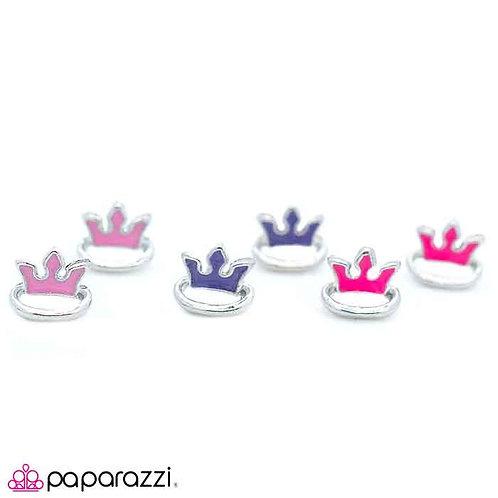 Crown Starlet Shimmer Earrings