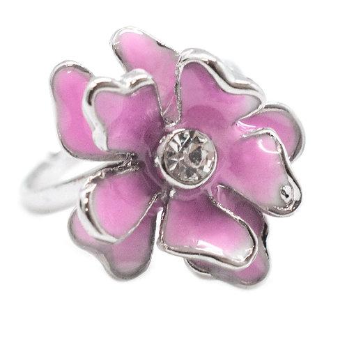 Flower Starlet Shimmer Rings
