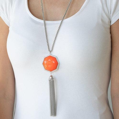 Prismatically Polygon Orange