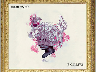WOW! Check out my work on Talib Kweli's NEW album