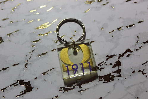 Founding Year (Que) Keychain - D9 Collection