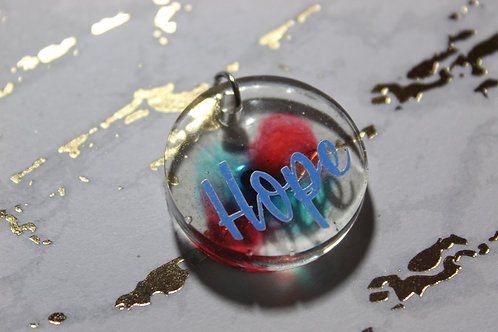 Hope Keychain - Positive Vibes Collection