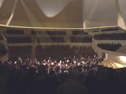 Concert à la philharmonie