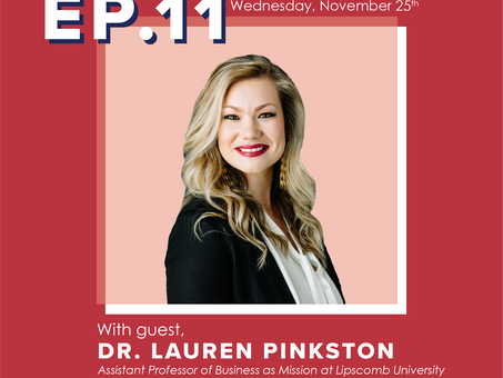 Ep. 11 Dr. Lauren Pinkston- Tensions of Learning and Unlearning