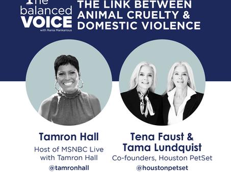 Ep. 30: Tamron Hall, Tena Faust, & Tama Lundquist | Animal Cruelty