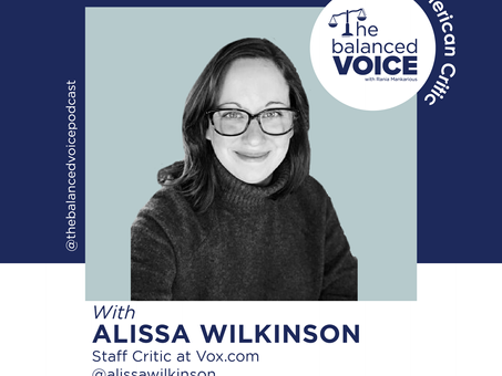 Ep. 19: Alissa Wilkinson | The American Critic