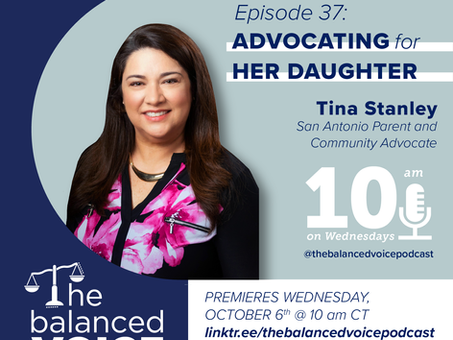Ep. 37: Tina Stanley | Advocating for her Daughter