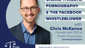 Ep. 39: Chris McKenna   Online Threats, Pornography, & The Facebook Whistleblower