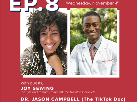 Ep. 8: Joy Sewing and Dr. Campbell