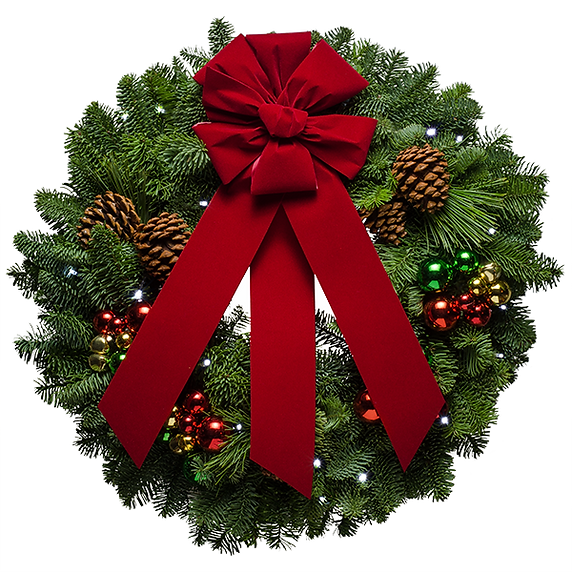 transparent-christmas-wreath-with-red-bo