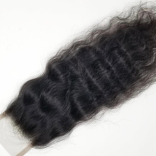 100% Raw Indian Virgin Human Hair Closure