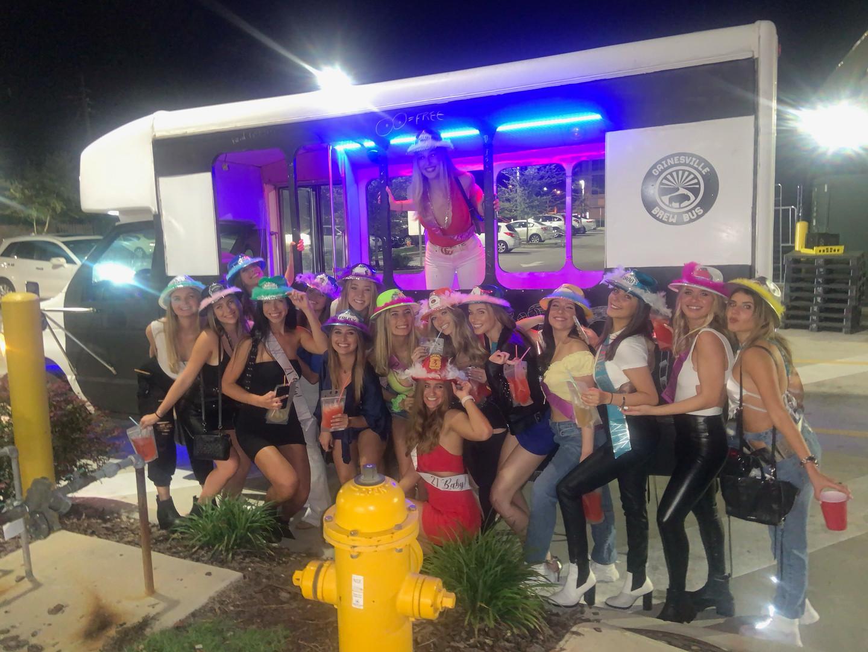 sign night University of Florida Brew Bu