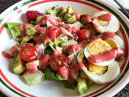 Raspberry Summer Salad