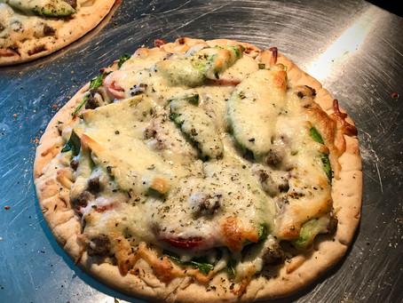 Veggie Flatbread Pizzas