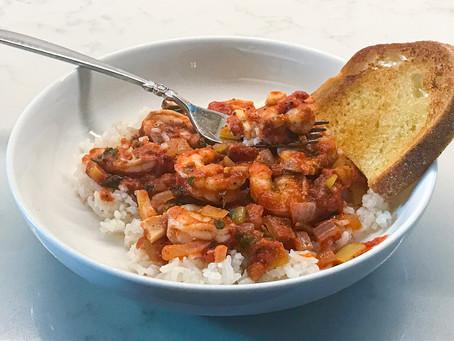 Shrimp with Fresh Tomato Sauce