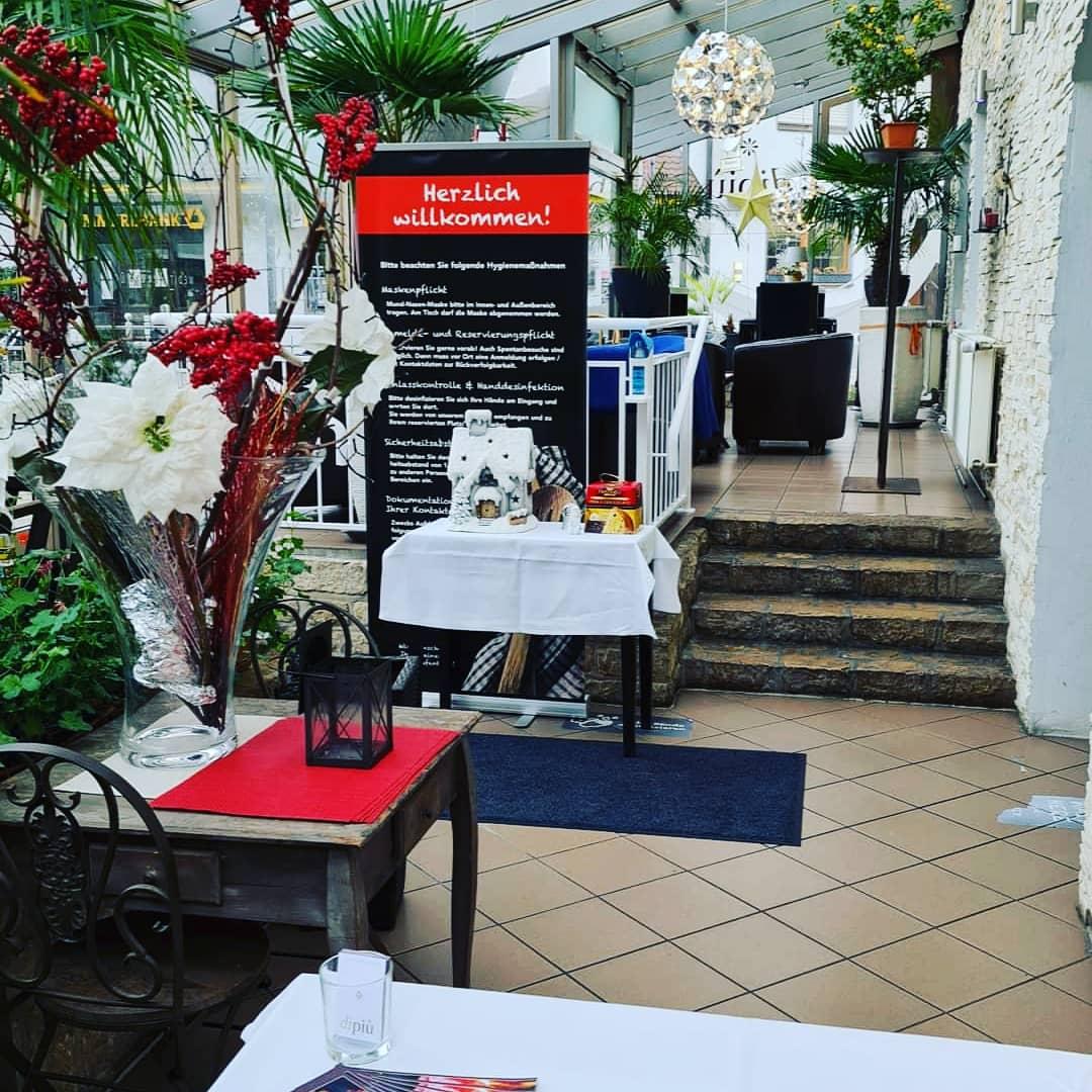 Eingang Wintergarten Empang