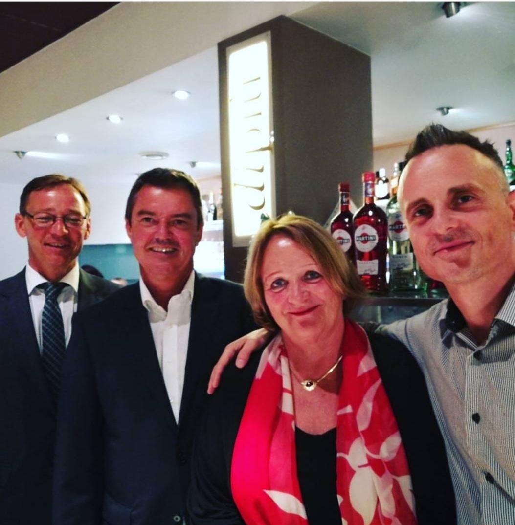 Krozinger Bürgermeister mit Ex Bundesjus