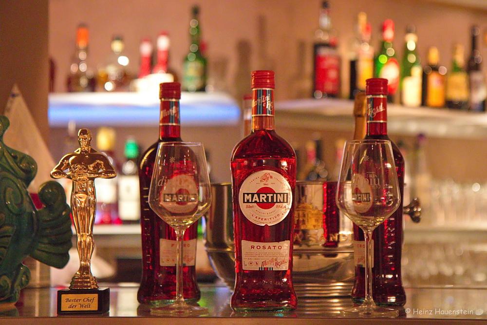 Aperitif-Martini unsere Bar