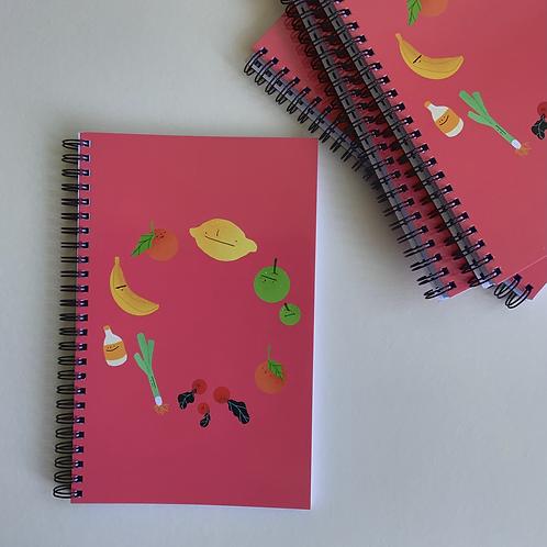 Fruity Notizbuch