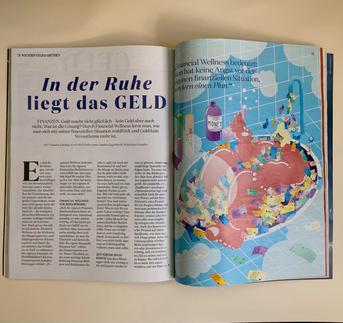 """Editorial für """"WIENERIN"""""""