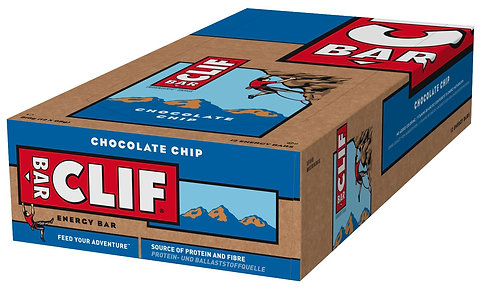 Clif Bar - Box of 12 - in 8 Flavours