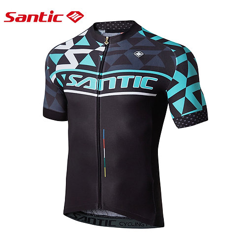 Santic Men's cycling short sleeve jersey