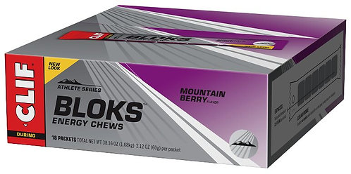 Clif Shot Bloks - 18 Packs per Box - in 5 Flavours
