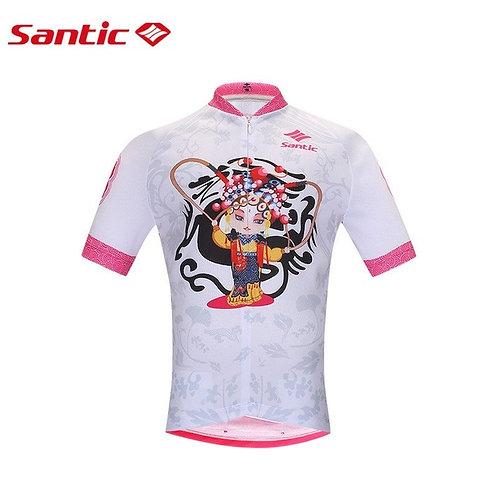 Santic Feng Girls Short Sleeve Cycling Jersey