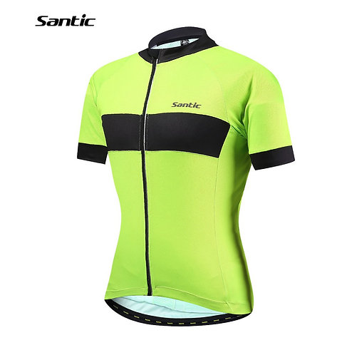 Santic Emerald Men's Short Sleeve Cycling Jersey