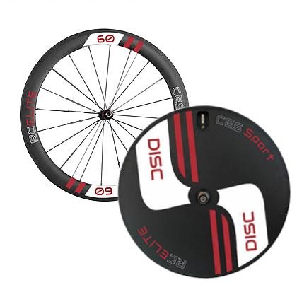 RC60 Elite Front & Elite Disc Rear Wheel (Made to order)