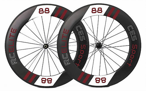 RC88 Elite Clincher Wheelset (Made to order)