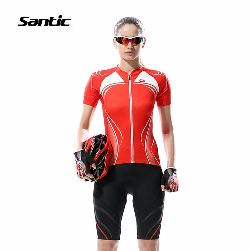 Santic Women's Short Sleeve Cycling Jersey