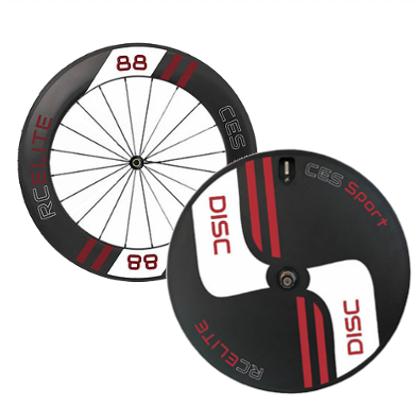 RC88 Elite Front & Elite Disc Rear Wheel (Made to order)