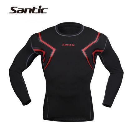 Santic Laser Men's Compression Long Sleeve Top