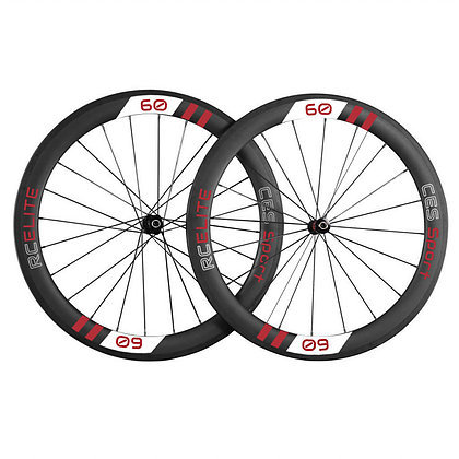 RC60 Elite Clincher Wheelset (Made to order)