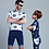 Thumbnail: Santic Little Shark Junior Cycling Kit For Boys