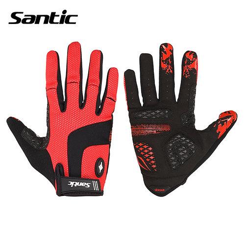 Santic MTB Full Finger Cycling Gloves