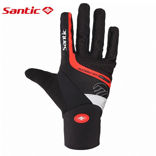 Santic Windproof Full Finger Cycling Gloves
