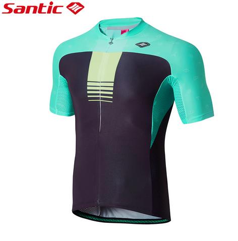 Santic Men's cycling short sleeve jersey