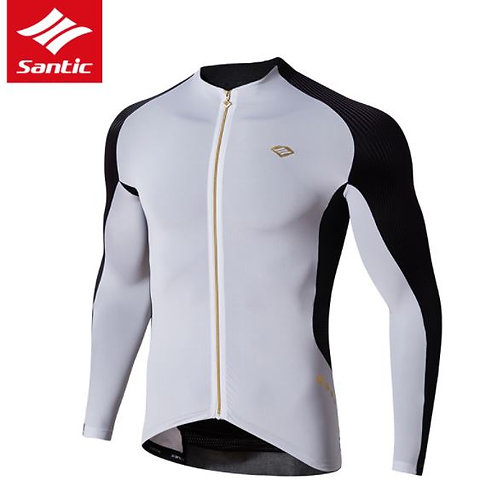 Santic Men's Cycling Long Sleeve Jersey