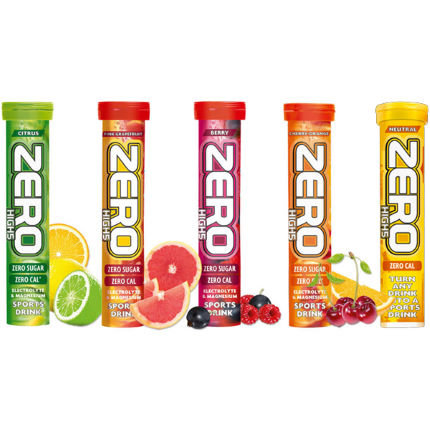 High5 Zero - 20 Tablet Tube AVAILABLE in 6 Flavours from £4.50