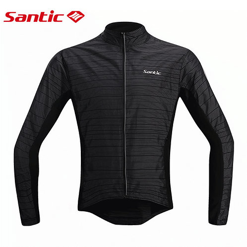 Santic Men's Reflective Windproof Jacket