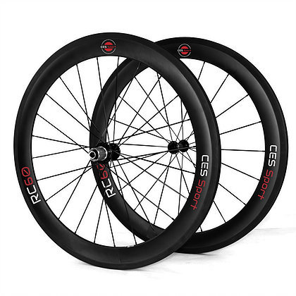 RC60DB Disc Brake Clincher Wheelset (Made to order)