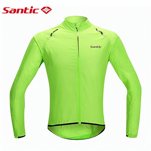 Santic Men's Windproof & Showerproof Jacket
