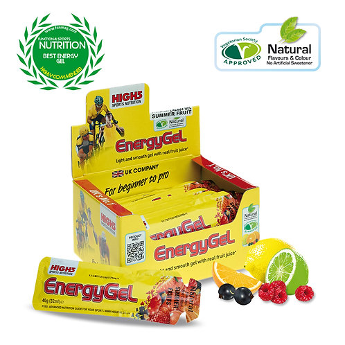 High5 EnergyGel - 20 Pack AVAILABLE in 5 Flavours
