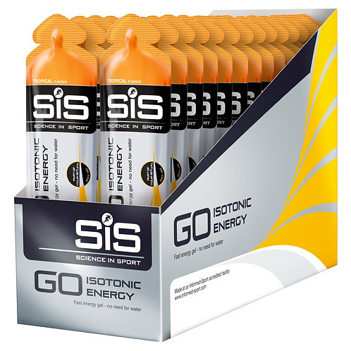 SiS GO Isotonic Gel 60ml - 30 Pack,  available in 7 flavours