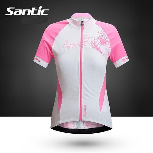Santic Women's Short Sleeve Cycling Jersey